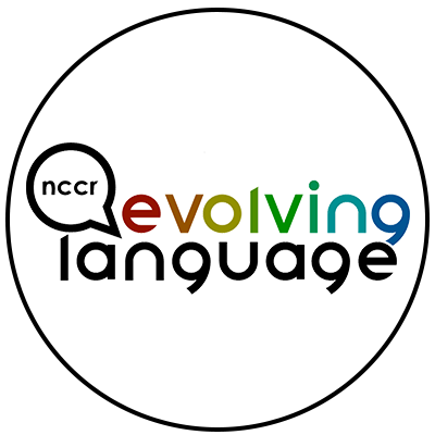 Logo of the NCCR Evolving Language